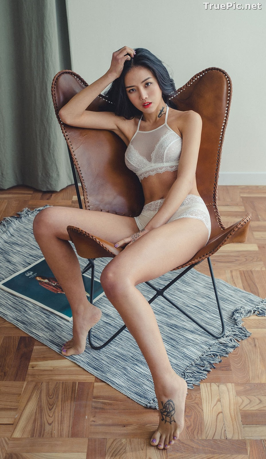 Image Korean Fashion Model – Baek Ye Jin – Sexy Lingerie Collection #6 - TruePic.net - Picture-9