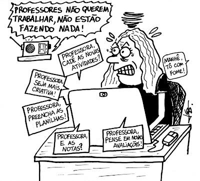 No brasil da Idiocracia, professores são transformados em vilões
