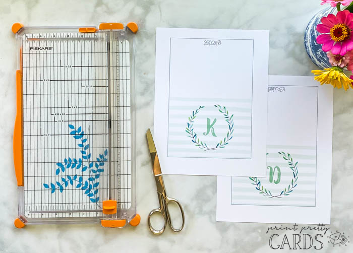 Note Cards to Print and Use