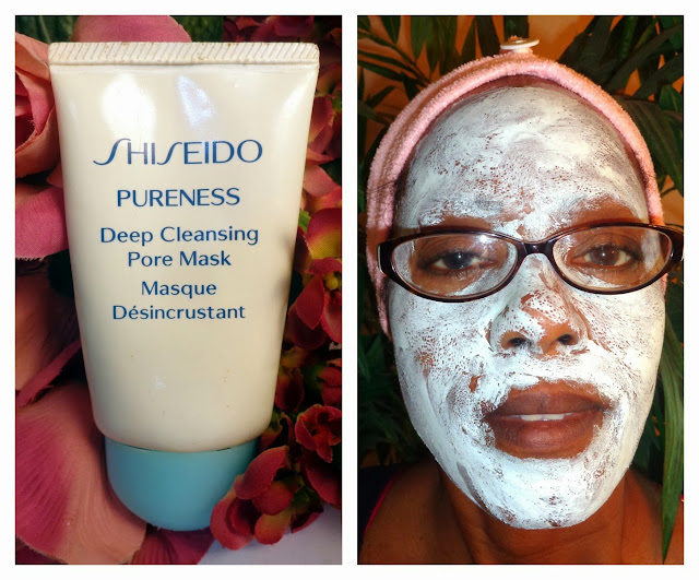 Shiseido Deep Cleansing Pore Mask