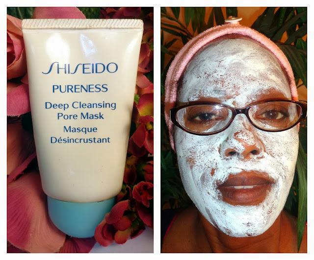 Shiseido Deep Cleansing Pore Mask
