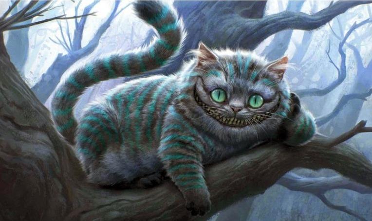 Ninguna plato caos  Maquilladict@s: Look Gato de Cheshire II. Versión Tim Burton.