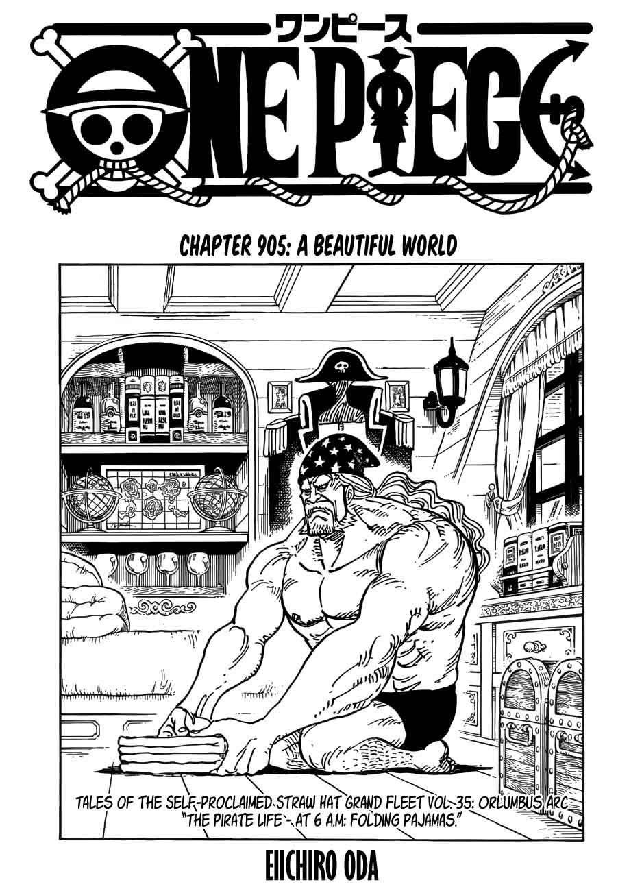One Piece 905 Streaming : piece, streaming, Piece,, Chapter, Beautiful, World, Piece, Manga, Online