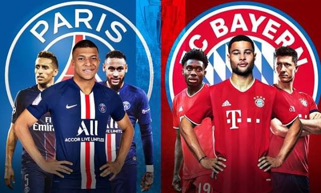 مشاهدة مباراة باريس سان جيرمان و بايرن ميونخ بث مباشر | نهائي دوري أبطال أوروبا