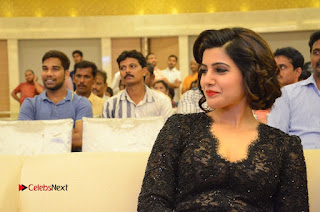 Samantha Pictures in Black Dress at A Aa Success Meet    ~ Bollywood and South Indian Cinema Actress Exclusive Picture Galleries