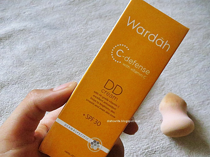 REVIEW : Wardah C-Defense DD Cream with SPF 30