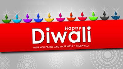 Colorful Happy Diwali Diya HD Wallpaper