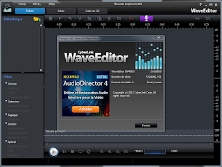 برنامج CyberLink WaveEditor 2.0.8205.0 مفعل
