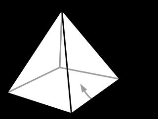 شكل هندسي تراه في السؤال المجاور من 3 حروف موقع علمني