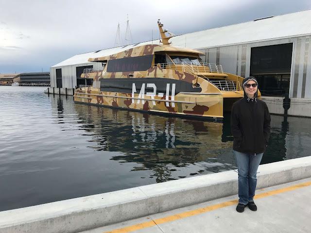 MONA ferry, Hobart