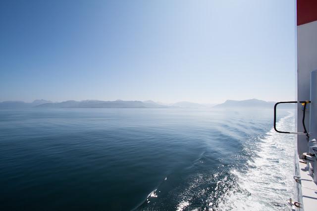 Navigazione verso l'isola di Skye