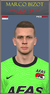 PES 2017 Faces Marco Bizot by Mo Ha