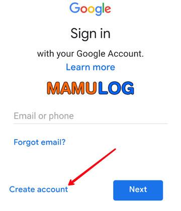 create email id
