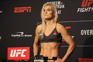 Who is Yana Kunitskaya? Thiago Santos Wife Age, Biography, Height, Instagram - Russian MMA UFC