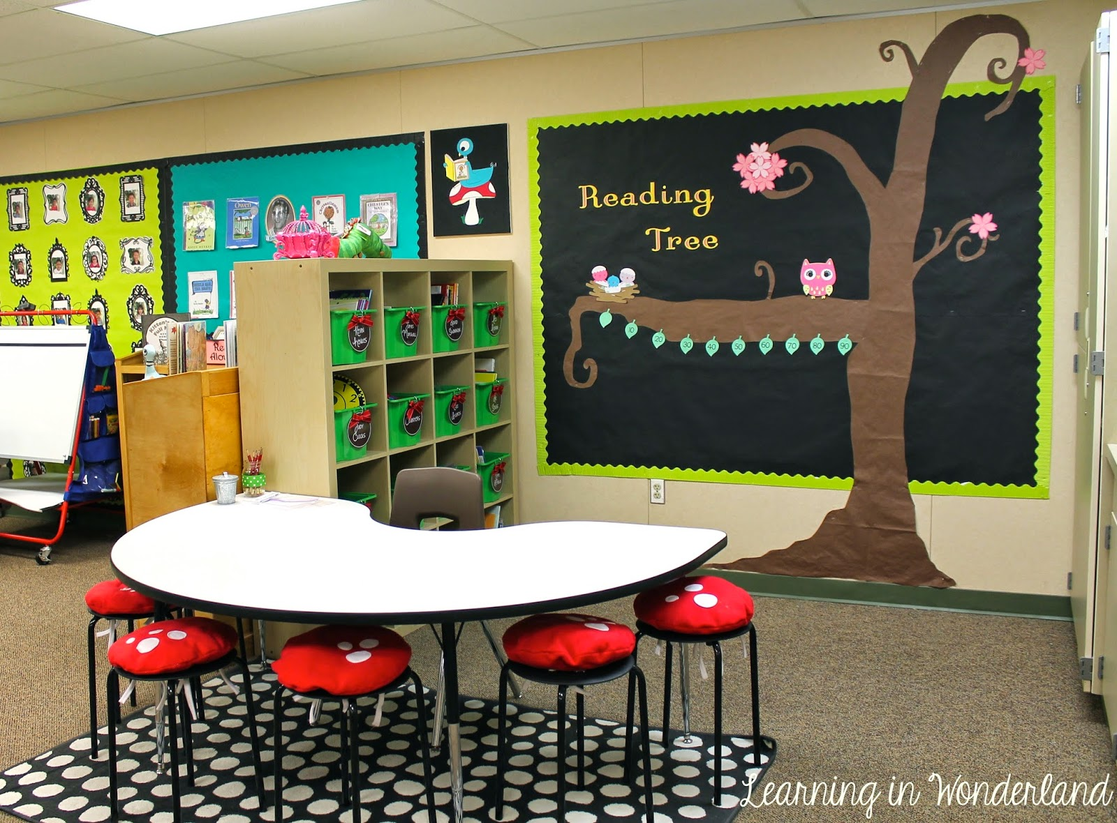 Classroom Tour Learning In Wonderland