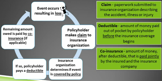 What is the insurance process?