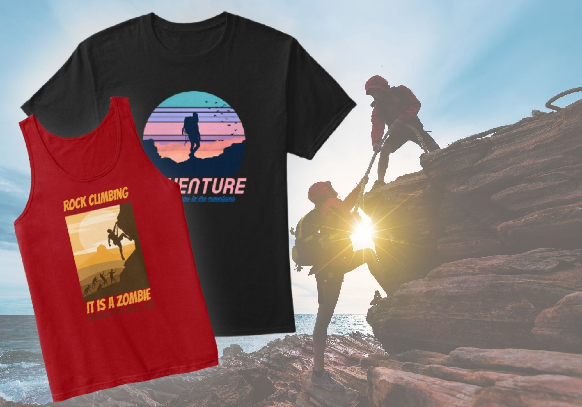 unisex rock climbing apparel