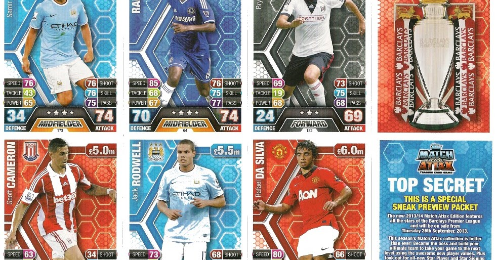 knulle no topps match attax