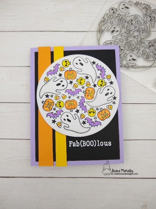 Fab(boo)lous by Diane feature Spooky Roundabout by Newton's Nook Designs; #newtonsnook