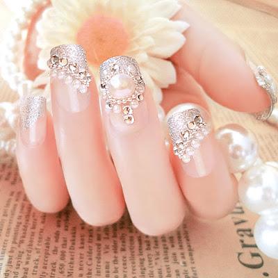 Decoraciones de uñas para boda