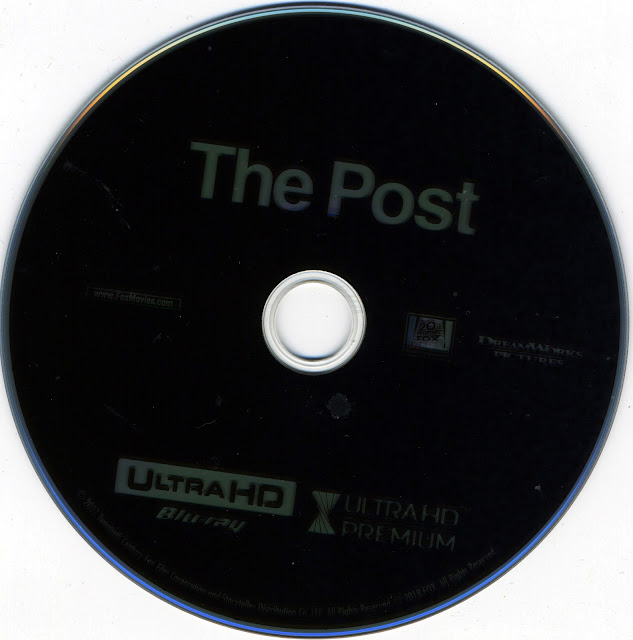 The Post 4K Bluray Label
