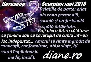 Horoscop mai 2018 Scorpion