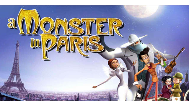 A Monster in Paris (2011) English Movie 720p BluRay Download