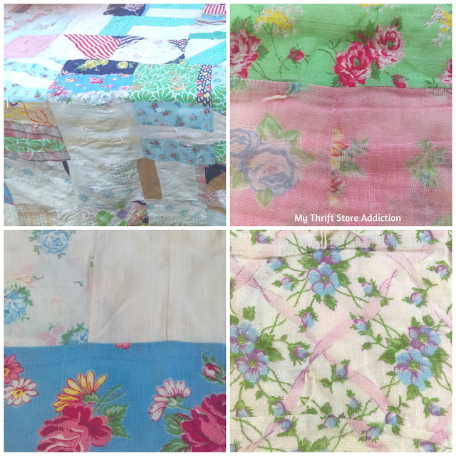 estate sale vintage quilt