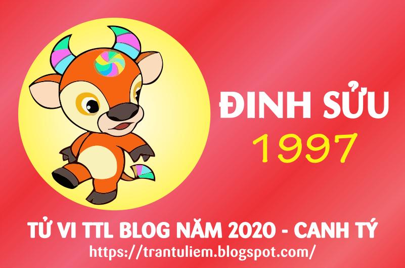 TỬ VI TUỔI ĐINH SửU 1997 NĂM 2020