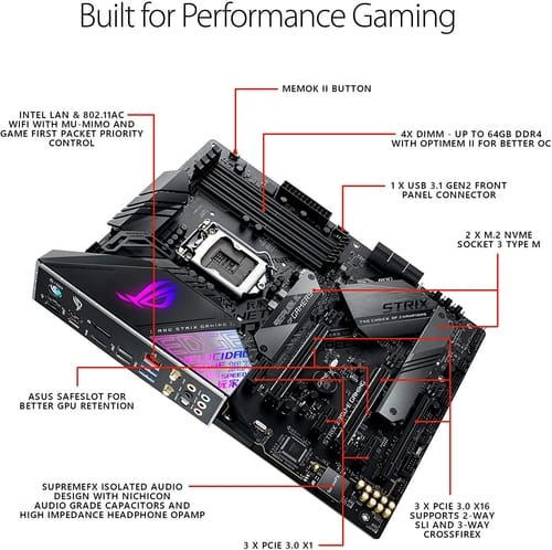 Review Asus ROG Strix Z390-E Gaming Motherboard