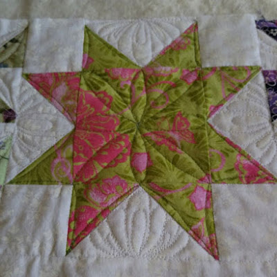 star block from Quilting and Learning