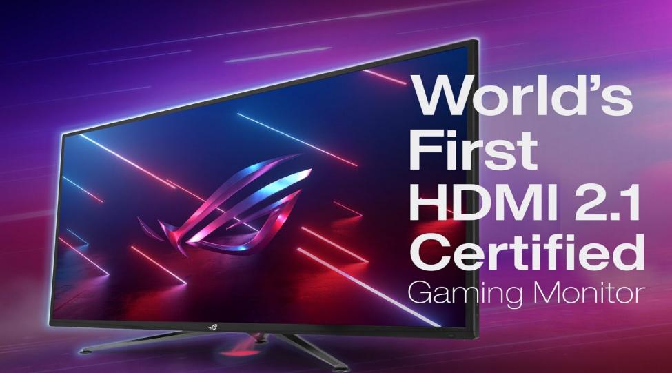 شركة ASUS تعلن عن أول شاشات الألعاب بتوصيلات HDMI 2.1 من إنتاجها!