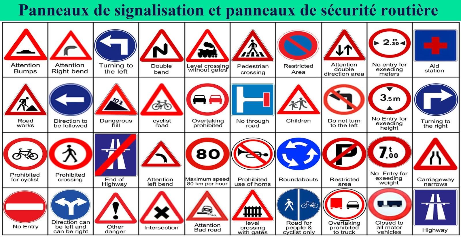 Remarquable Panneaux de signalisation et de sécurité routière   Site CA-23