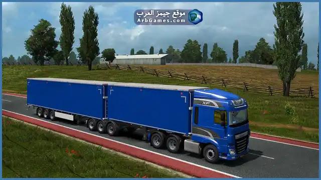 تحميل لعبة الشاحنات للكمبيوتر Download Euro Truck Simulator 2
