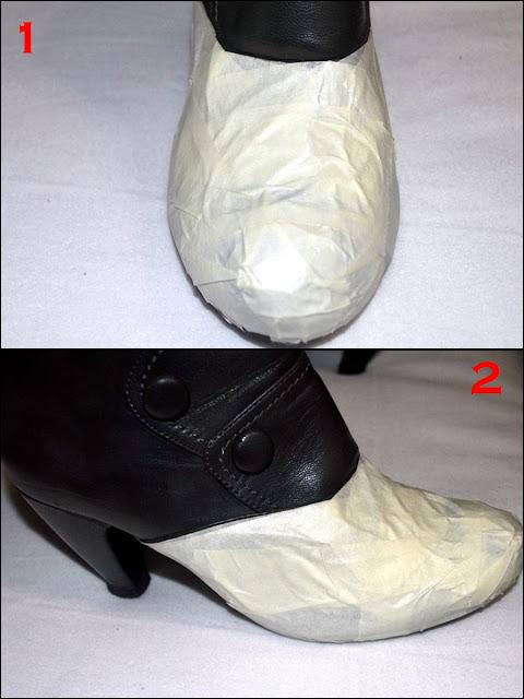 DIY Transforma unas botas viejas en nuevas