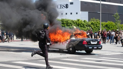 Governor declares state of emergency in Los Angeles County amid protests