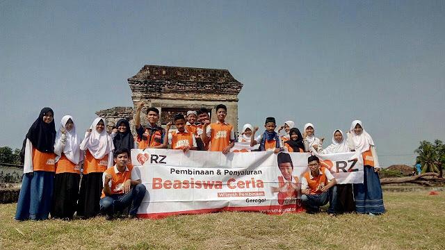 22 Anak Juara RZ Cilegon Outing Majlis di Banten Lama