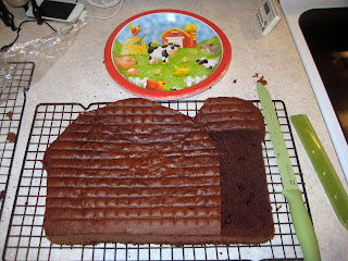 Cobo Ryan S 2nd Birthday Barn Cake