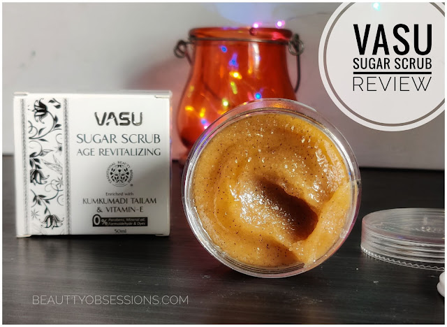 Vasu Sugar Scrub Age Revitalizing