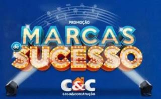 Promoção C&C Marcas de Sucesso - Carro 0KM e Prêmios Instantâneos de 500 ou 200 Reais