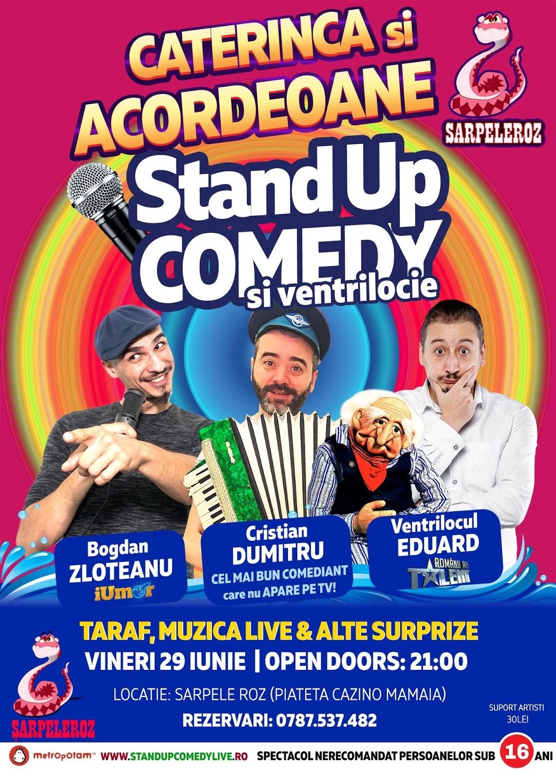 Caterinca si Acordeoane (Stand-Up Comedy & Ventrilocie)