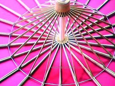 Bahan dari alam untuk membuat produk kerajinan payung geulis