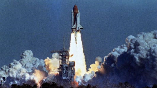 Apples & Chalkdust: Space Shuttle Challenger Disaster: Where Was I?
