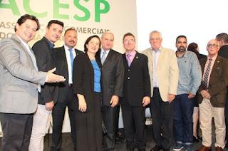 Aciaju prestigia posse da nova diretoria da FACESP