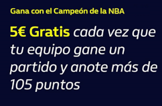 william hill Gana con el Campeón de la NBA 2019-2020