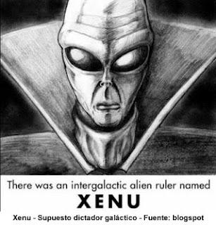Xenu, dictador de la Confederación Galáctica