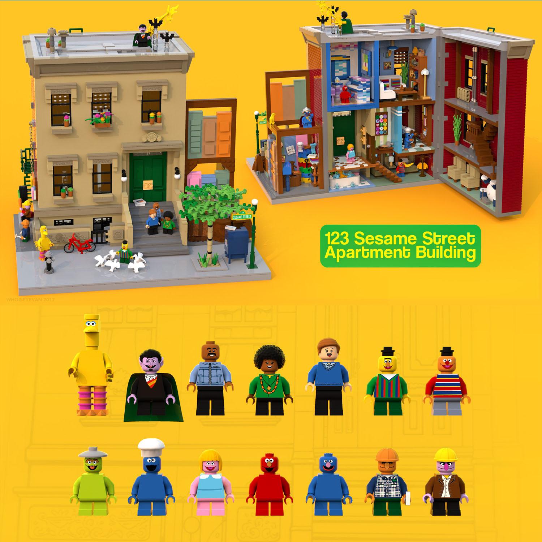 123セサミストリート・アパート:123 Sesame Street