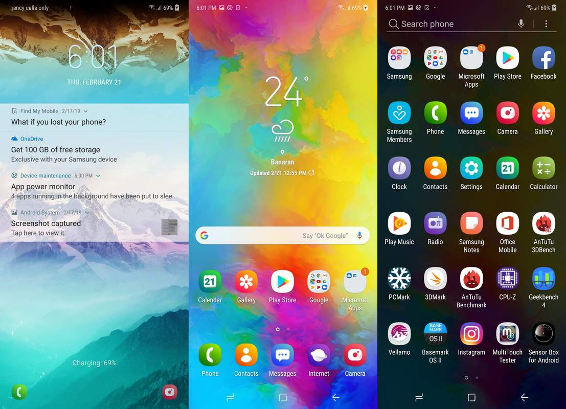 Software & Fitur Samsung Galaxy M20