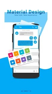 GO SMS Pro - Tema, Emoji, GIF untuk (Android) Download Gratis