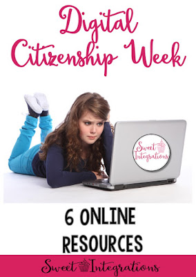 Celebrate Digital Learning Week with your elementary and middle school classroom or home school students. As teachers we need to emphasize that when a student uses technology they must be good digital citizens. Use the six websites, ideas, activities, and resources at this post to empower students with skills to actively participate in social justice through positive engagement with social media. Great for your Kindergarten, 1st, 2nd, 3rd, 4th, 5th, 6th, or 7th grade students.